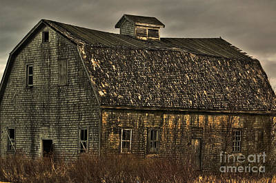 Old Barn Poster by Alana Ranney