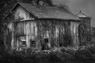 Old Barn Poster by Bill Wakeley