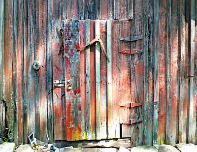 Old Barn Door 2 Poster