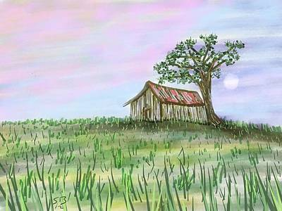 Old Barn Poster by Stacy C Bottoms