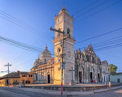 Old Baroque Beauty Of Granada - Iglesia La Merced Poster by Mark E Tisdale