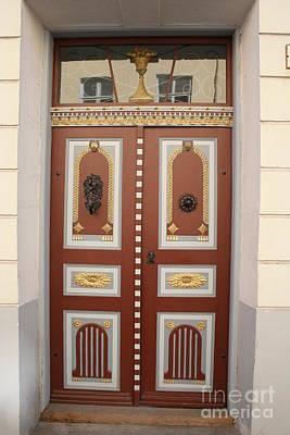 Old Beauty - Door In Tallinn Poster