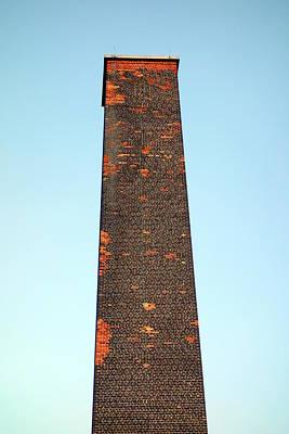Old Brick Stack Poster by Valentino Visentini