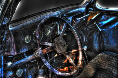 Old Car 02 Poster by Andy Savelle