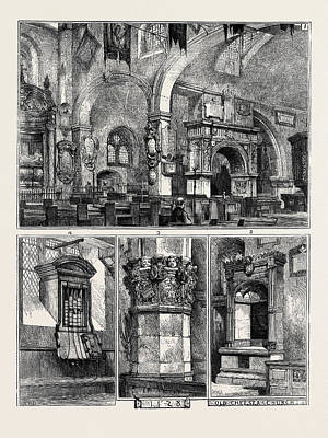 Old Chelsea Church 1. Interior Poster