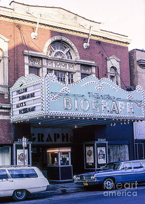 Old Chicago Biograph Movie Theatre. Poster