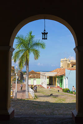 Old City Gate, Trinidad, Unesco World Poster by Keren Su
