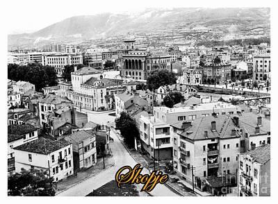 Old World Skopje Poster