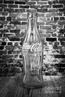 Old Cola Bottle Poster by Serene Maisey