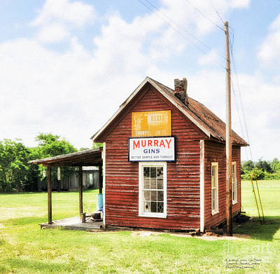 Old Country Cotton Gin Store -  South Carolina - I Poster