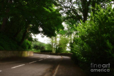 Old Country Road - Peak District - England Poster by Doc Braham