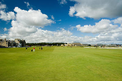 Old Course Fairways Poster