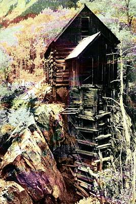 Old Crystal Mill Crystal Colorado Poster