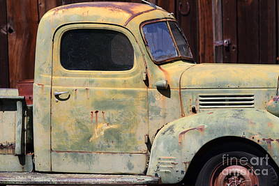 Old Dodge Truck 7d22382 Poster by Wingsdomain Art and Photography