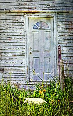 Old Door Poster by Cheryl Cencich