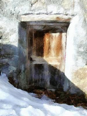 Old Door Poster by Gun Legler