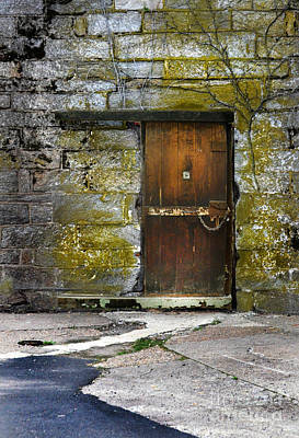 Old Door Poster