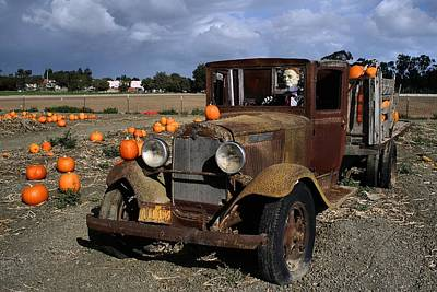 Poster featuring the photograph Old Farm Truck by Michael Gordon