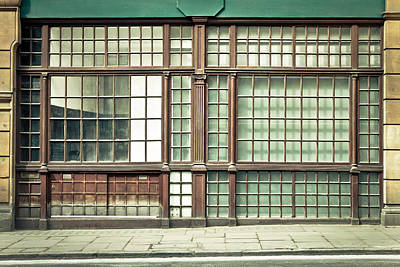Old Fashioned Window Poster