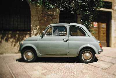 Old Fiat Poster