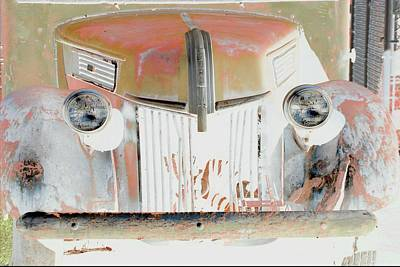 Old Ford Truck - Photopower Poster by Pamela Critchlow