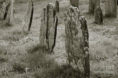 Old Gravestones II Poster by Dave Gordon