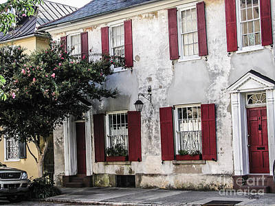 Old House In Charleston South Carolina Poster