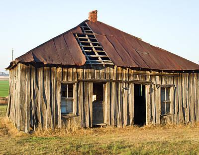 Old House Place Arkansas 3 Poster by Douglas Barnett