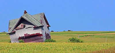 Old House Poster by Dayton Preston