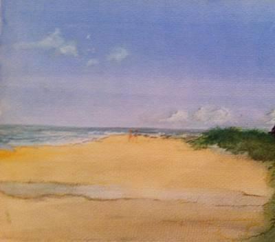Old Hunstanton Beach Poster