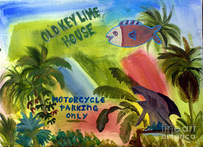 Old Key Lime House Poster