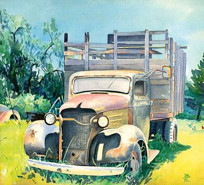 Old Kula Truck Poster