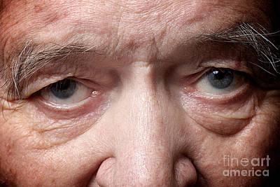 Old Man Eyes Poster
