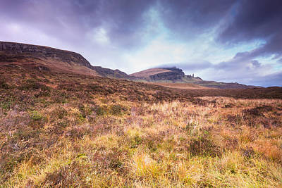 Old Man Of Storr Poster by Keith Thorburn LRPS