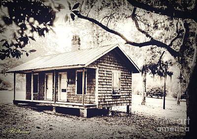 Old Masonboro Slave Cottage Poster