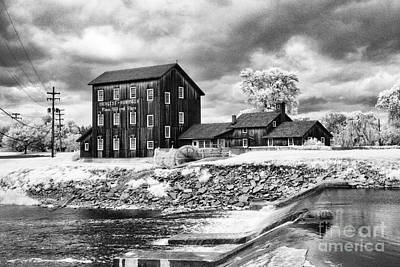 Old Mill In Frankenmuth Poster by Jeff Holbrook