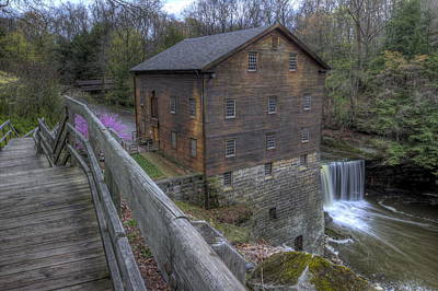 Old Mill Of Idora Park Poster