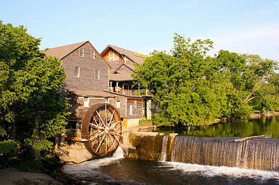 Old Mill Pigeon Forge Tennessee Poster