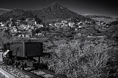 Poster featuring the photograph Old Mining Town No.23 by Mark Myhaver