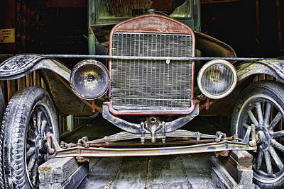 Old Model T Poster