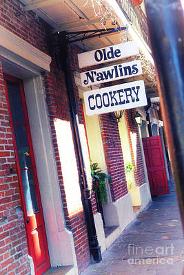 Poster featuring the photograph Old Nawlins by Erika Weber