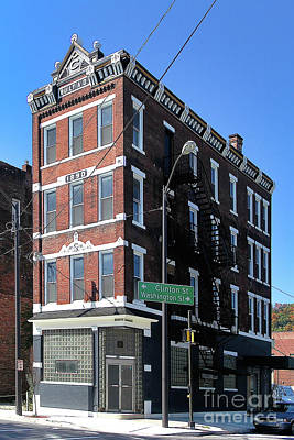 Old Penn Hotel - Johnstown Pa Poster