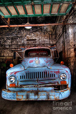 Old Pickup Truck Hdr Poster by Amy Cicconi