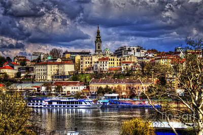 Old Port Belgrade Poster