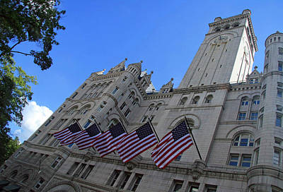 The Old Post Office Or Trump Tower Poster