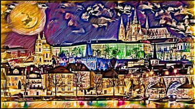 Old Prague Magic - Wallpaper Poster