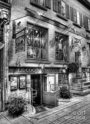 Old Quebec City 3 Poster
