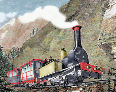 Old Railway, Usa Poster