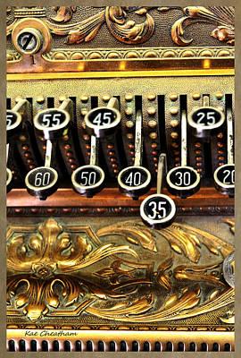Old Register Keys Poster by Kae Cheatham