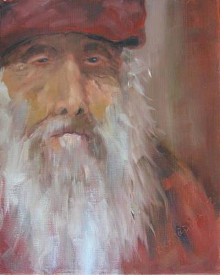 Old Salt Christo At 80 Poster by Susan Richardson